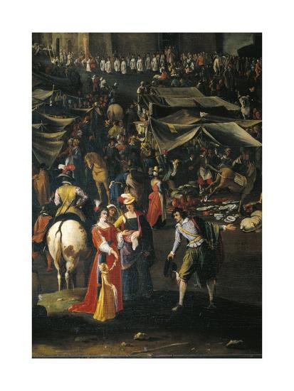 Italy, Florence, Fair of Impruneta, 1618--Giclee Print