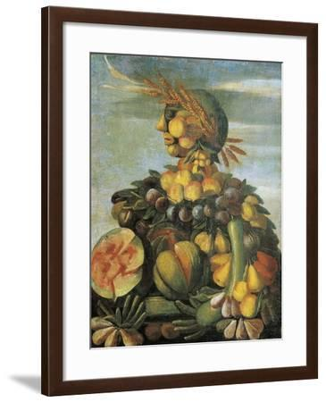 Italy, Florence, the Summer, Fruit--Framed Giclee Print
