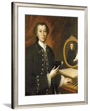 Italy, Forli, Portrait of Giovanni Battista Pergolesi--Framed Giclee Print
