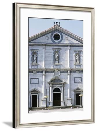 Italy, Friuli-Venezia Giulia, Palmanova, Facade of Cathedral of Palmanova--Framed Giclee Print