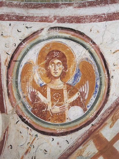 Italy, Friuli Venezia Giulia Region, Aquileia, Cathedral in Crypt--Giclee Print