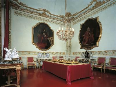 Italy, Genoa, Palazzo Spinola, Dining Room--Giclee Print