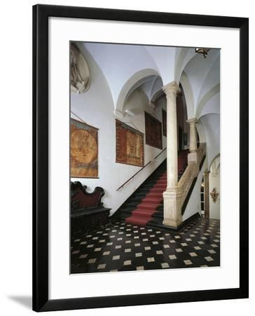 Italy, Genoa, Palazzo Spinola, Staircase Connecting Main Floor to Second Floor--Framed Giclee Print