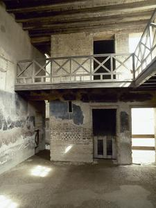 Italy, Herculaneum, the House of the Stags, 1st AD, Room