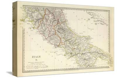 Italy II, c.1830--Stretched Canvas Print