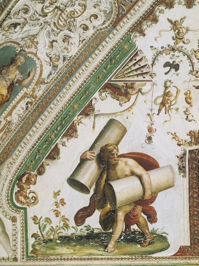 Italy, Latium Region, Rome, Tivoli, Villa D'Este, State Apartments, Hall of Labors of Herakles--Giclee Print