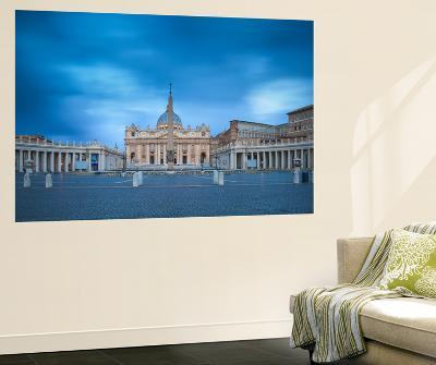 Italy, Lazio, Rome, St. Peters Square, St. Peter's Basilica-Jane Sweeney-Wall Mural