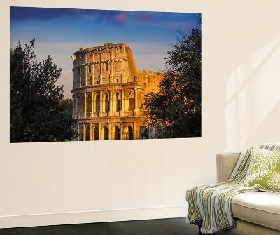 Italy, Lazio, Rome, the Colosseum-Jane Sweeney-Wall Mural