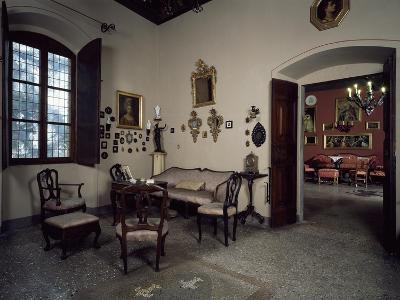 Italy, Lonato, Ugo Da Como Foundation, Casa Del Podesta, Dining Room--Giclee Print