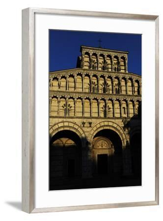 Italy, Lucca, Cathedral of Saint Martin, Facade--Framed Photographic Print