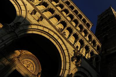 Italy, Lucca, Cathedral of Saint Martin, Facade--Photographic Print