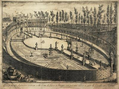 Italy, Lucca, View of the Wooden Amphitheatre Used for Horse Racing--Giclee Print