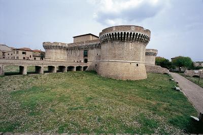 Italy, Marche Region, Senigallia, Rocca Roveresca Fortress--Giclee Print
