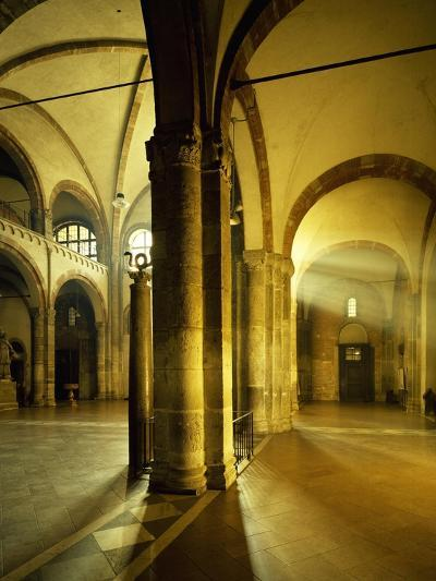 Italy, Milan, Basilica of Sant'Ambrogio, Interior of Left Nave--Giclee Print