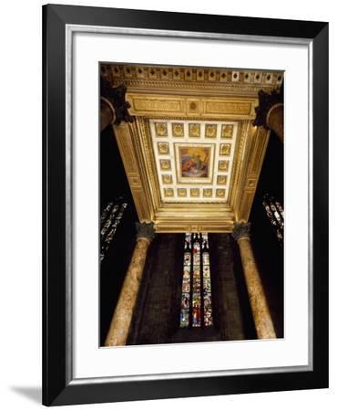 Italy, Milan Cathedral, Detail of Baptistery-Per Nilsson-Framed Giclee Print