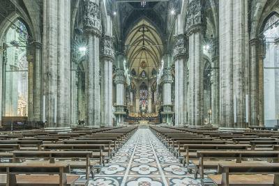 Italy, Milan, Cathedral Duomo di Milano Interior-Rob Tilley-Photographic Print