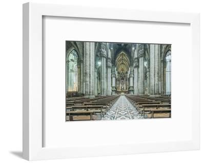 Italy, Milan, Cathedral Duomo di Milano Interior-Rob Tilley-Framed Photographic Print