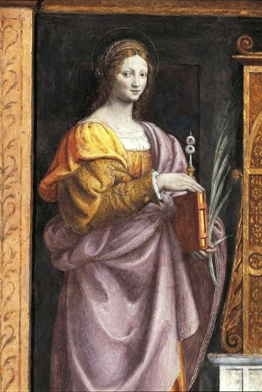 Italy, Milan, Church of Saint Maurice Al Monastero Maggiore, Saint Lucia, 1521-1523--Giclee Print