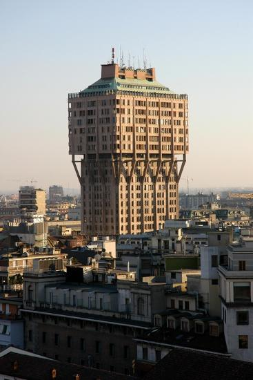 Italy. Milan. The Velasca Tower--Giclee Print