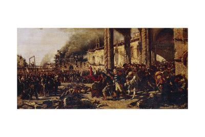 Italy, Naples, the Slaughters of Altamura--Giclee Print