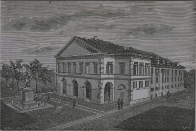 Italy, Novara, Coccia Theatre by Riva from Monograph on Novara--Giclee Print