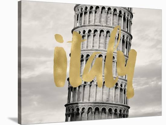 Italy Pisa Golden-Amy Brinkman-Stretched Canvas Print