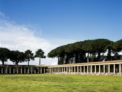 Italy, Pompeii, Great Gym--Giclee Print