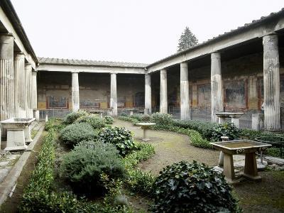 Italy, Pompeii, House of Vetti, Domus, 1st Century AD--Giclee Print