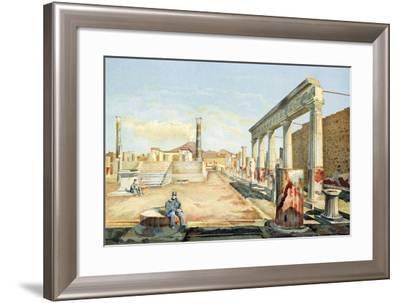Italy, Pompeii, Mount Vesuvius-Fausto and Felice Niccolini-Framed Giclee Print