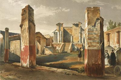 Italy, Pompeii, Temple of Isis, Volume I, Plate I--Giclee Print