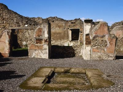 Italy, Pompeii, the House of Adonis, Atrium--Giclee Print