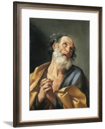 Italy, Portrait of Saint Peter Crying--Framed Giclee Print