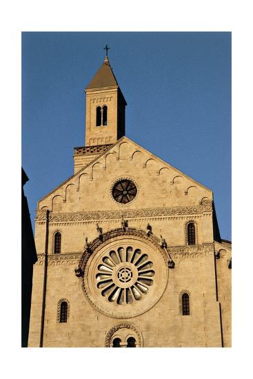 Italy, Puglia, Bari, Facade of Bari Cathedral--Giclee Print