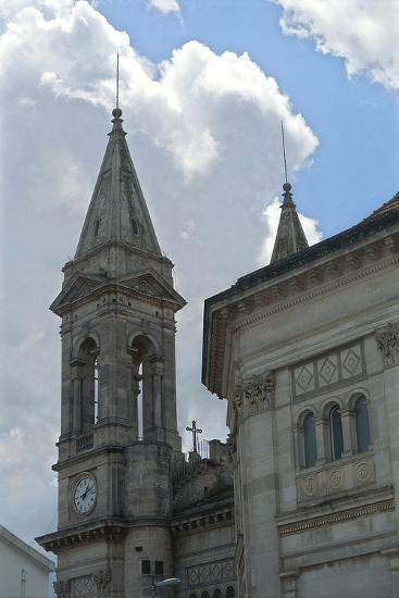 Italy, Puglia, Le Murge, Alberobello, Church of Saints Cosmas and Damian--Giclee Print