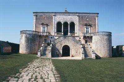 Italy, Puglia Region, Castle of Conversano--Giclee Print