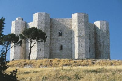 Italy, Puglia Region, Le Murge, Castel Del Monte--Giclee Print