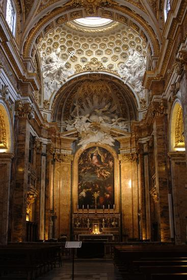 Italy, Rome, Church of St Louis of the French, Interior--Giclee Print