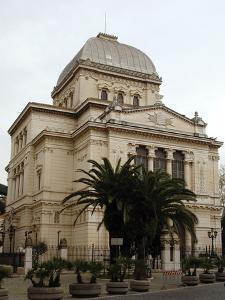 Italy, Rome, Great Synagogue of Rome, 1901-1904, Exterior