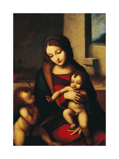 Italy, Rome, Madonna and Child with the Infant Saint John--Giclee Print