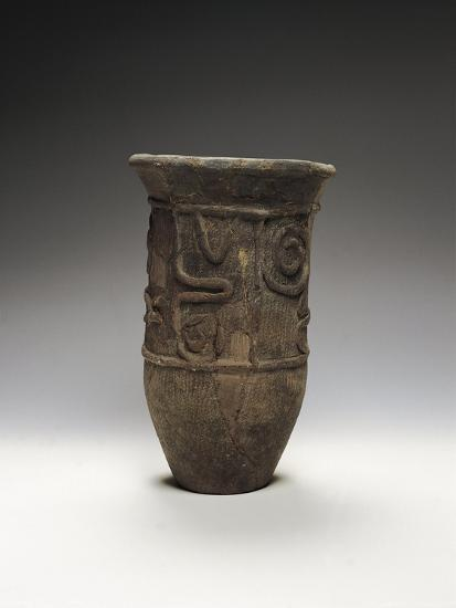 Italy, Rome, Museo Nazionale D'Arte Orientale, Decorated Pot from Chiba--Giclee Print