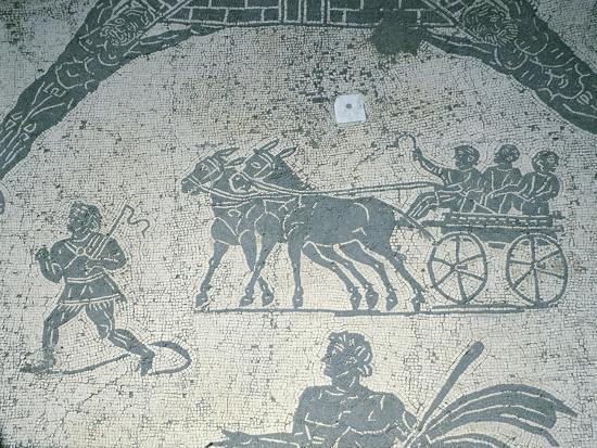 Italy, Rome, Ostia Antica--Giclee Print