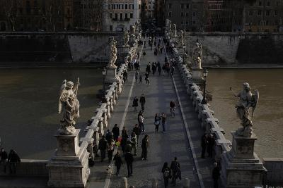 Italy. Rome. Saint Angelo Bridge--Giclee Print