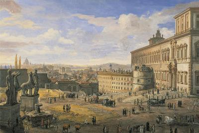 Italy, Rome, the Quirinal Palace--Giclee Print