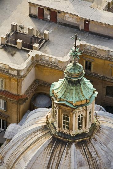 Italy, Rome, Vatican, Peter's Cathedral, Dome, Detail, Peter's Dome-Rainer Mirau-Photographic Print