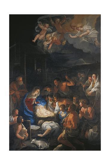 Italy, San Martino, Adoration of the Shepherds--Giclee Print