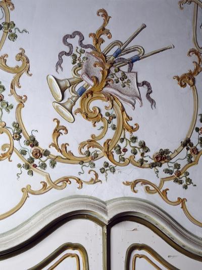 Italy, Santa Margherita Ligure, Villa Durazzo, Detail of Decoration from Room--Giclee Print