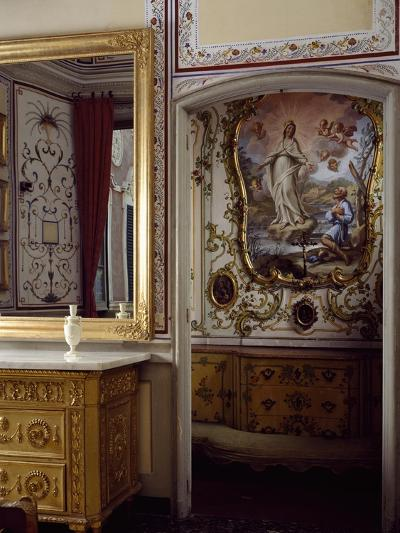 Italy, Santa Margherita Ligure, Villa Durazzo, House of Pregadio's Chapel--Giclee Print