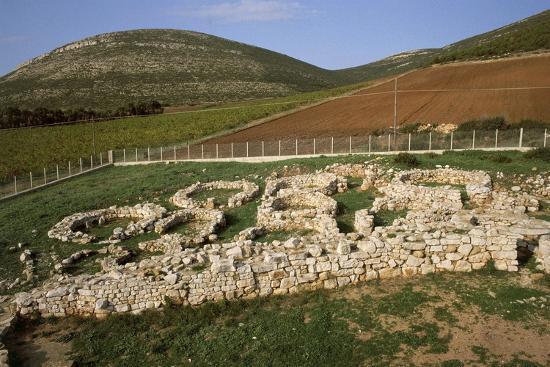 Italy, Sardinia Region, Sassari Province, Palmavera, Ruins of Nuragic Village--Giclee Print