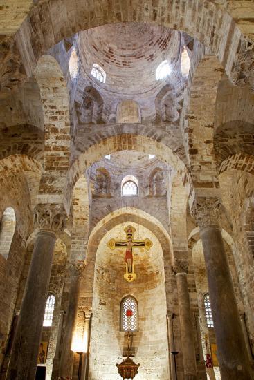 Italy, Sicily, Palermo. Interior of Church of San Cataldo.-Ken Scicluna-Photographic Print