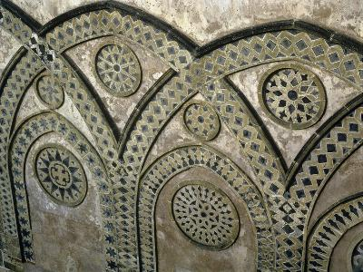 Italy, Sicily, Palermo Province, Monreale, Monreale Cathedral, Upper Part of Facade--Giclee Print